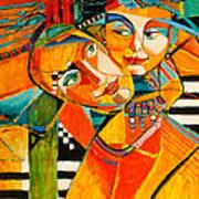 Be My Love Art Print by Jennifer Croom