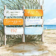 Beach 151 Art Print