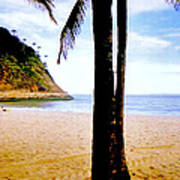 Beach At Ipanema - 2 Art Print