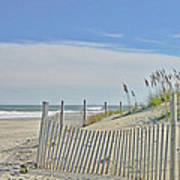 Beach At Outer Banks Art Print