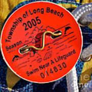 Beach Badge 2005 Art Print