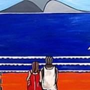 Beach Beach Day Three Art Print