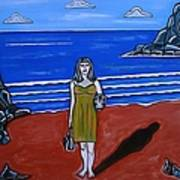 Beach Chic Art Print