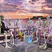 Beach Committee Art Print