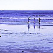 Beach Day Afternoon Art Print