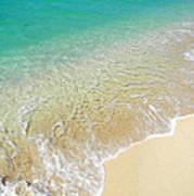 Golden Sand Beach Art Print