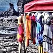 Beach Fashion Art Print