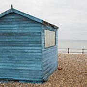 Beach Hut At Kingsdown Art Print