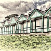 Beach Huts 4 Art Print