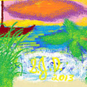 Beach Art Print by Joe Dillon