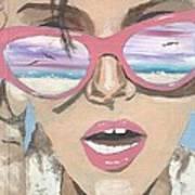 Beach Look Art Print