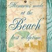 Beach Notes-a Art Print
