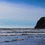 Beach On The Oregon Coast Art Print