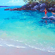 Beach Painting - A Day To Remember Art Print