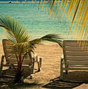 Beach Paradize Art Print