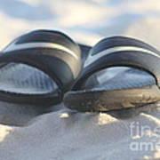 Beach Sandals 2 Art Print