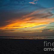 Beach Sunrise Art Print