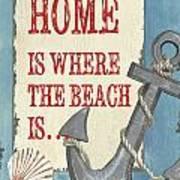 Beach Time 2 Art Print