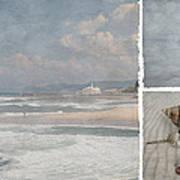 Beach Triptych 1 Art Print