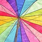 Beach Umbrella 2 Art Print