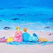 Beach Vacation Art Print