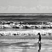 Beach Walker 30 Art Print