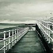 Beach Walkway Art Print by Tom Gowanlock