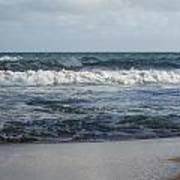 Beach Waves 2 Art Print