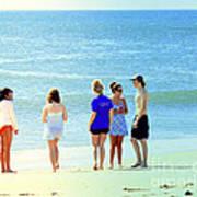 Beaches Of Point Pleasant Nj Art Print