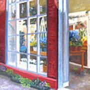 Beacon Hill Flower Shop Art Print
