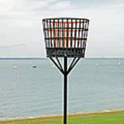 Beacon On Yarmouth Common Art Print