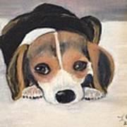 Beagle Resting Art Print