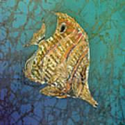 Beaked Butterflyfish Art Print