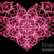 Beaming Heart Art Print