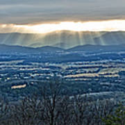 Beaming March Shenandoah Art Print by Lara Ellis