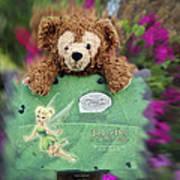 Bear And His Girl Art Print