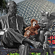 Bear And His Mentors Walt Disney World 04 Art Print