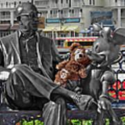 Bear And His Mentors Walt Disney World 07 Art Print