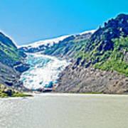 Bear Glacier Near Stewart-british Columbia  Art Print
