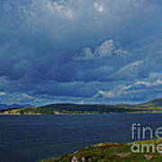 Beara Peninsula West Kerry - On The Road To Lauragh Art Print