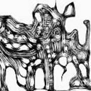Beast 711 - Marucii Art Print