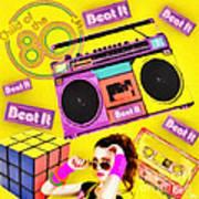 Beat It Art Print by Mo T