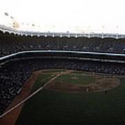 Beautiful Right Field View Of Old Yankee Stadium Art Print
