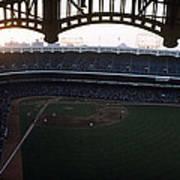 Beatiful View Of Old Yankee Stadium Art Print
