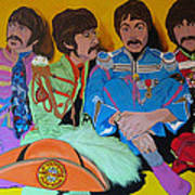 Beatles-lonely Hearts Club Band Art Print