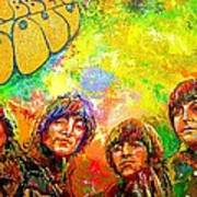Beatles Rubber Soul Art Print