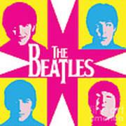 Beatles Vinil Cover Colors Project No.01 Art Print