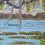 Beaufort Anchorage Art Print