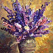 Beaujolais Bouquet Art Print by David Lloyd Glover