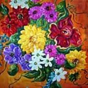 Beauties In Bloom Art Print